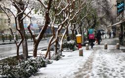 تصاویر بارش برف در تهران,عکس های بارش برف در تهران,تصاویر برف تهران در 29 دی ماه 98