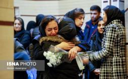 تصاویر مراسم یادبود جانباختگان هواپیمای اوکراین,عکس های مراسم یادبود جانباختگان هواپیمای اوکراین,تصاویر دانشجویان دانشگاه تبریز