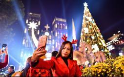 تصاویر جشن کریسمس در نقاط مختلف جهان,عکس های جشن کریسمس در نقاط مختلف جهان,تصاویر جشن کریسمس در استرالیا