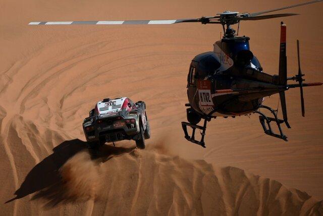 تصاویر مسابقه رالی داکار ۲۰۲۰,عکس های مسابقه رالی داکار ۲۰۲۰,تصاویرکارلوس ساینس