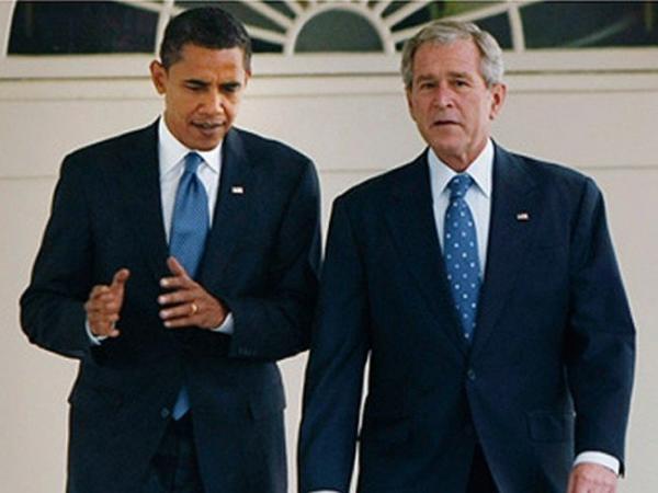 جورج دبلیو بوش و اوباما,اخبار سیاسی,خبرهای سیاسی,دفاع و امنیت