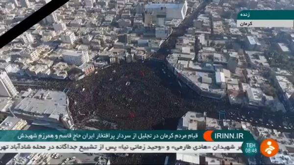 تعدادی از تشییع کنندگان در کرمان جان باختند/ آخرین آمار؛ ۳۲ کشته و ۱۹۰ مصدوم
