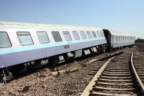 خروج دیزل قطار مسافربری در زاهدان/حادثه قطار زاهدان تلفات نداشته است
