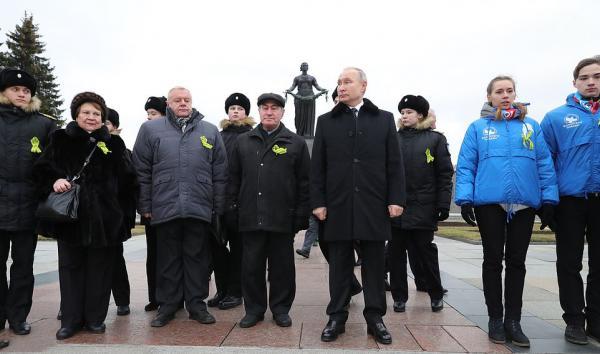 مراسم سالگرد پایان محاصره لنینگراد,اخبار سیاسی,خبرهای سیاسی,سیاست