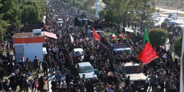 افزایش تلفات ازدحام جمعیت در مسیر تشییع شهدا / ۵۰ نفر تاکنون جان باختهاند