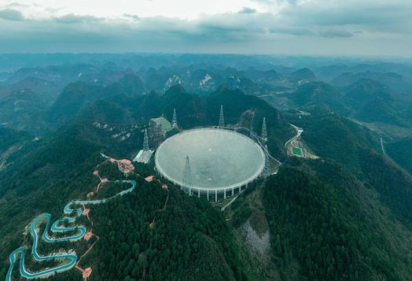 تلسکوپ چشم آسمان چین,اخبار علمی,خبرهای علمی,نجوم و فضا