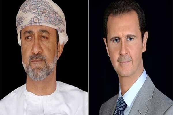 بشار اسد و هیثمبن طارق بن تیمور,اخبار سیاسی,خبرهای سیاسی,خاورمیانه