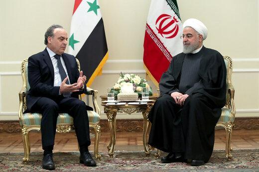 دیدار حسن روحانی و عماد خمیس,اخبار سیاسی,خبرهای سیاسی,سیاست خارجی