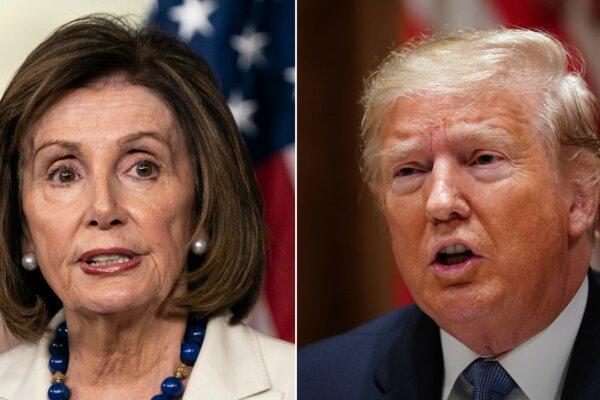 نانسی پلوسی و ترامپ,اخبار سیاسی,خبرهای سیاسی,اخبار بین الملل