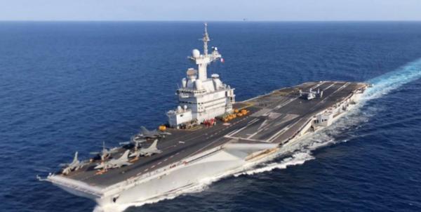 ناو هواپیمابر فرانسه در غرب آسیا,اخبار سیاسی,خبرهای سیاسی,دفاع و امنیت