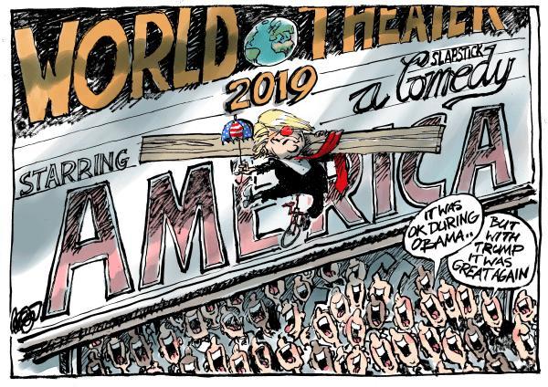 کارتون دونالد ترامپ