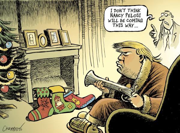کاریکاتور رونالد ترامپ