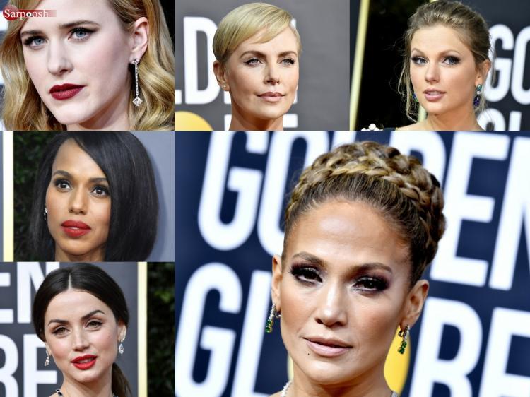 تصاویر مراسم گلدن گلوب 2020,عکس های مراسم گلدن گلوب 2020,تصاویر بازیگران در مراسم گلدن گلوب 2020