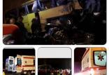 واژگونی اتوبوس مسافربری اصفهان-رامسر,اخبار حوادث,خبرهای حوادث,حوادث