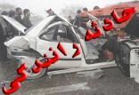واژگونی لکسوس در مسیر سهند-تبریز,اخبار حوادث,خبرهای حوادث,حوادث
