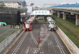 قطارهای بدون ریل در چین,اخبار خودرو,خبرهای خودرو,وسایل نقلیه