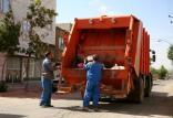 کامیون زباله شهرداری قم,اخبار حوادث,خبرهای حوادث,حوادث