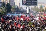 مراسم تشییع پیکر شهید سپهبد سلیمانی,اخبار سیاسی,خبرهای سیاسی,دفاع و امنیت