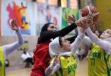 هفته نهم لیگ برتر بسکتبال بانوا,اخبار ورزشی,خبرهای ورزشی,ورزش بانوان