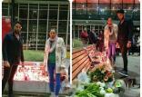 کیمیا علیزاده در مراسم سوگواری کشتهشدگان حادثه سقوط هواپیما,اخبار ورزشی,خبرهای ورزشی,اخبار ورزشکاران