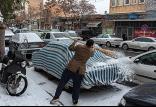 وضعیت آب و هوای ایران در 29 دی,اخبار اجتماعی,خبرهای اجتماعی,وضعیت ترافیک و آب و هوا