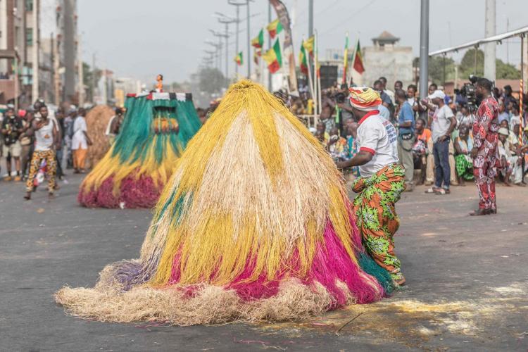 تصاویر جشنواره وودوو,عکس های جشنواره وودوو,تصاویر برگزاری جشنواره وودوو در پورتو نووو