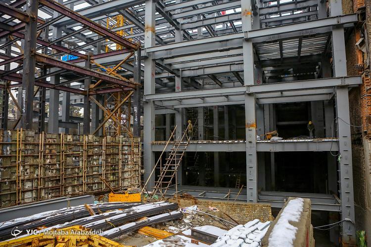 تصاویر آخرین وضعیت ساختمان جدید پلاسکو,عکس های ساختمان پلاسکو,تصاویر ساختمان جدید پلاسکو
