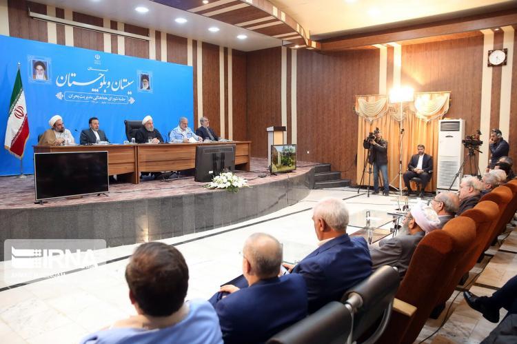 تصاویر جلسه شورای هماهنگی مدیریت بحران سیستان و بلوچستان,عکس های حسن روحانی,تصاویر رئیس جمهور ایران
