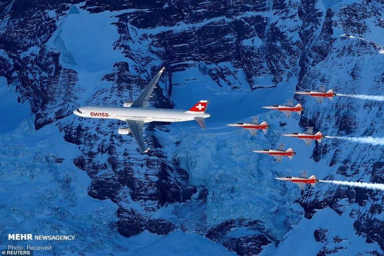 تصاویر مراسم افتتاحیه جام جهانی اسکی آلپاین,عکس های جام جهانی اسکی آلپاین,تصاویر اسکی در سوئیس