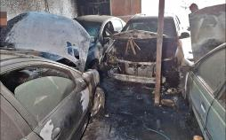 آتشسوزی در تعمیرگاه خودرو,اخبار حوادث,خبرهای حوادث,حوادث امروز