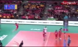 فیلم/ خلاصه والیبال چین 0-3 ایران (فینال انتخابی المپیک 2020)