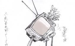 کارتون مشکلات صدا و سیمای ایران,کاریکاتور,عکس کاریکاتور,کاریکاتور هنرمندان