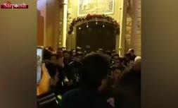 فیلم/ پایکوبی ارامنه اصفهان به مناسبت کریسمس