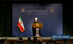 فیلم/ روحانی: شلیک یک گلوله میتواند آتش جنگ را روشن کند