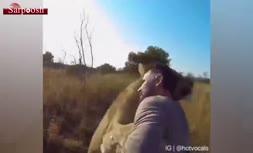 زیباترین ویدئویی که از عشق انسان و حیوان دیده اید