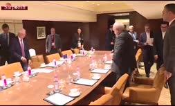 فیلم/ محمد جواد ظریف به بورل: هرگز از یک قلدر اجازه نخواهید