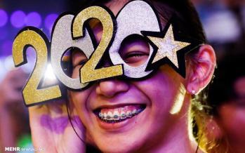 تصاویر جشن آغاز سال نوی میلادی ۲۰۲۰عکس های سال نو میلادی,تصاویر جشن سال نو
