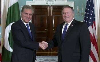 دیدار وزیران خارجه آمریکا و پاکستان,اخبار سیاسی,خبرهای سیاسی,سیاست خارجی