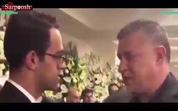 فیلم/ حضور علی دایی در مراسم یادبود یکی از کشته شدگان سقوط هواپیمای اوکراینی