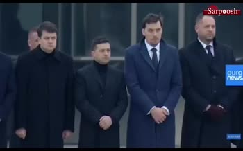 فیلم/ تشییع رسمی 11 قربانی هواپیمای اوکراینی