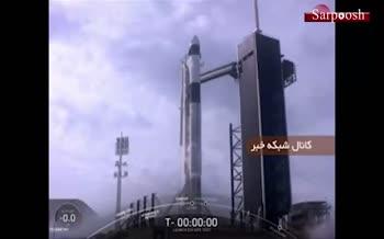 فیلم/ موشک آمادهسازی جهت انتقال انسان به مریخ، به فضا پرتاب شد
