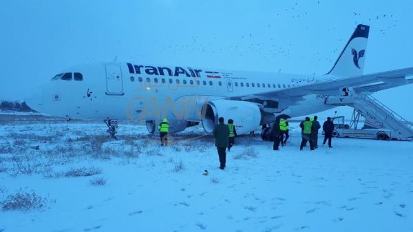 حادثه برای پرواز صبح امروز تهران به كرمانشاه به علت شکستگی چرخ جلو هواپیما