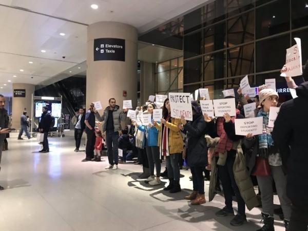 افزایش دانشجویان ایرانی اخراج شده از فرودگاههای آمریکا