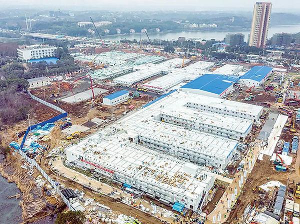 ساخت بیمارستان هوشنشان در چین,اخبار اجتماعی,خبرهای اجتماعی,شهر و روستا