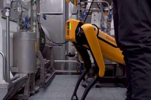 استفاده از رباتی در دکل نفتی,اخبار علمی,خبرهای علمی,اختراعات و پژوهش