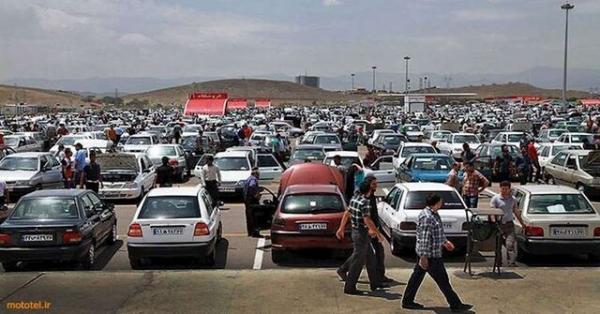 علت کاهش قیمتها در بازار خودرو,اخبار خودرو,خبرهای خودرو,بازار خودرو