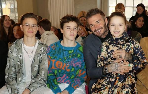 تصاویر دیوید بکام و فرزندانش,اخبار فوتبال,خبرهای فوتبال,اخبار فوتبالیست ها