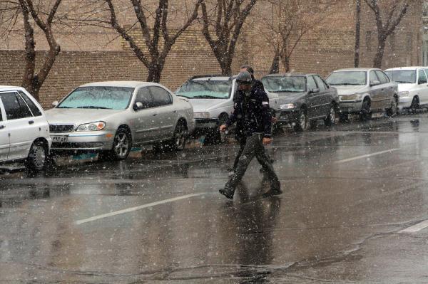 بارش باران در چند استان,اخبار اجتماعی,خبرهای اجتماعی,وضعیت ترافیک و آب و هوا