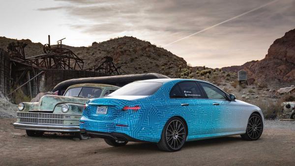 نسخه ارتقاء یافته E-Class مرسدس بنز,اخبار خودرو,خبرهای خودرو,مقایسه خودرو
