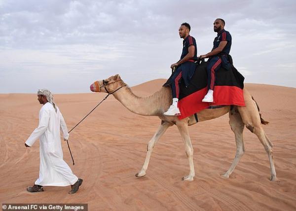 بازیکنان تیم آرسنال در دبی,اخبار فوتبال,خبرهای فوتبال,اخبار فوتبالیست ها